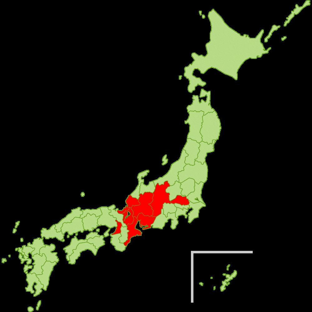 豚コレラ感染地域