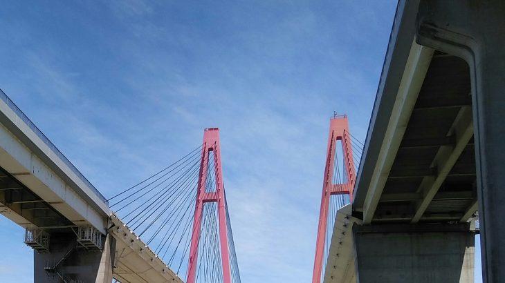 【名港西大橋 脚下・名港トリトン】名古屋近辺のインスタ・車撮影スポット