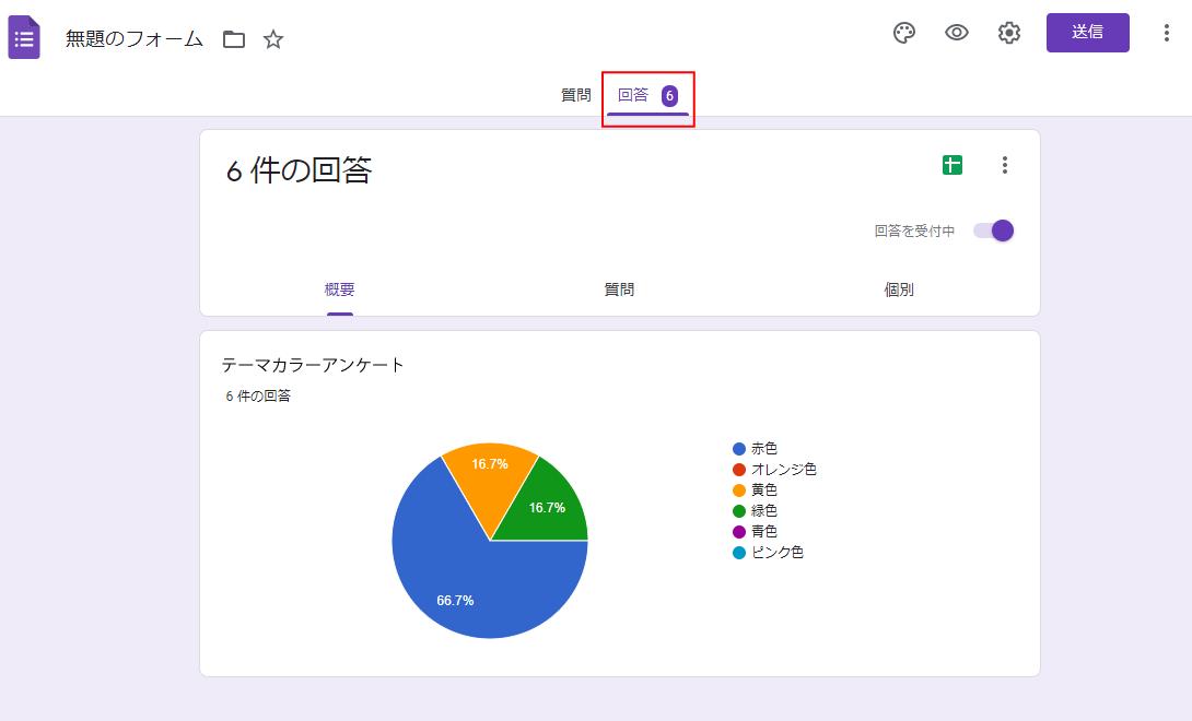 Google Forms(フォーム)